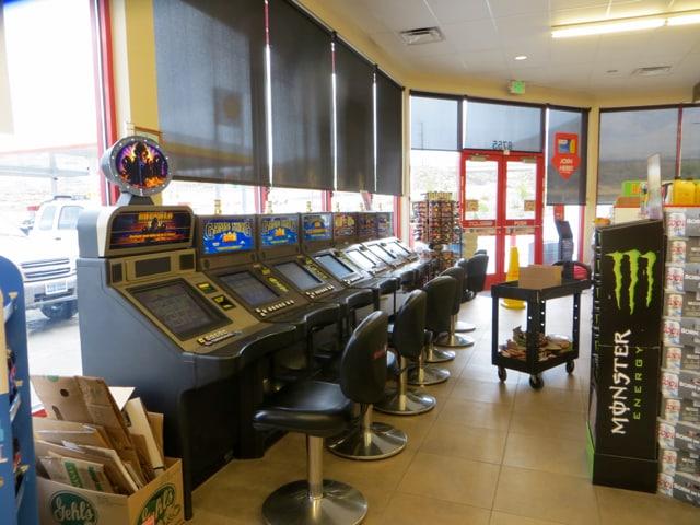 Casino in der Tankstelle