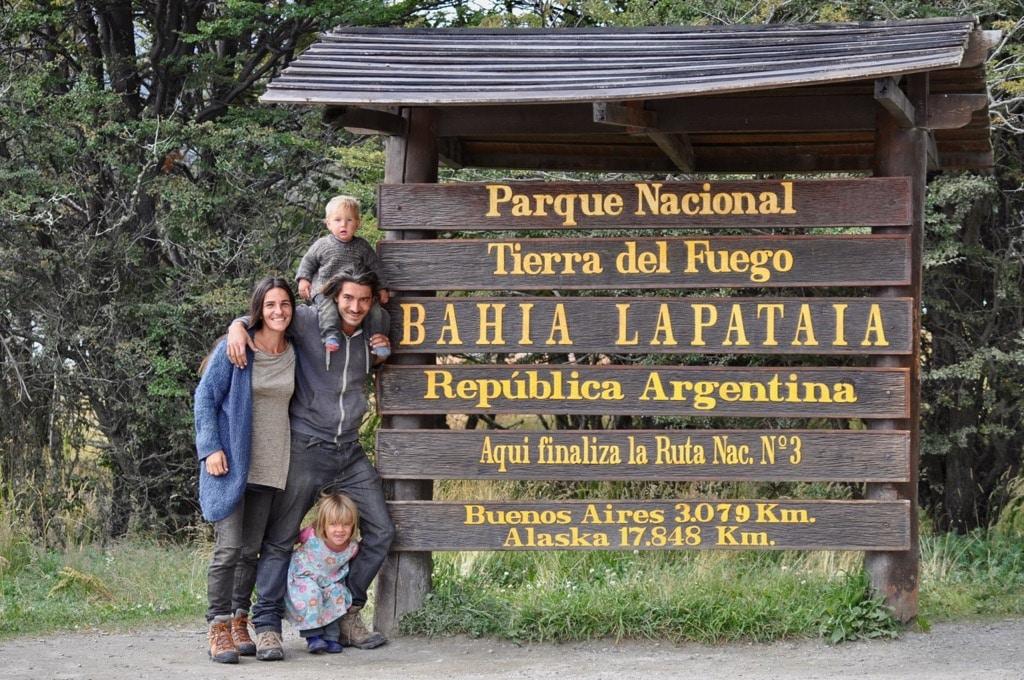 Das Ende der Welt auf Feuerland nahe Ushuaia. Und das Ende unserer 2-jährigen Traumreise auf der Panamericana von Alaska nach Feuerland. Weiter geht es für uns nur noch nordwärts.