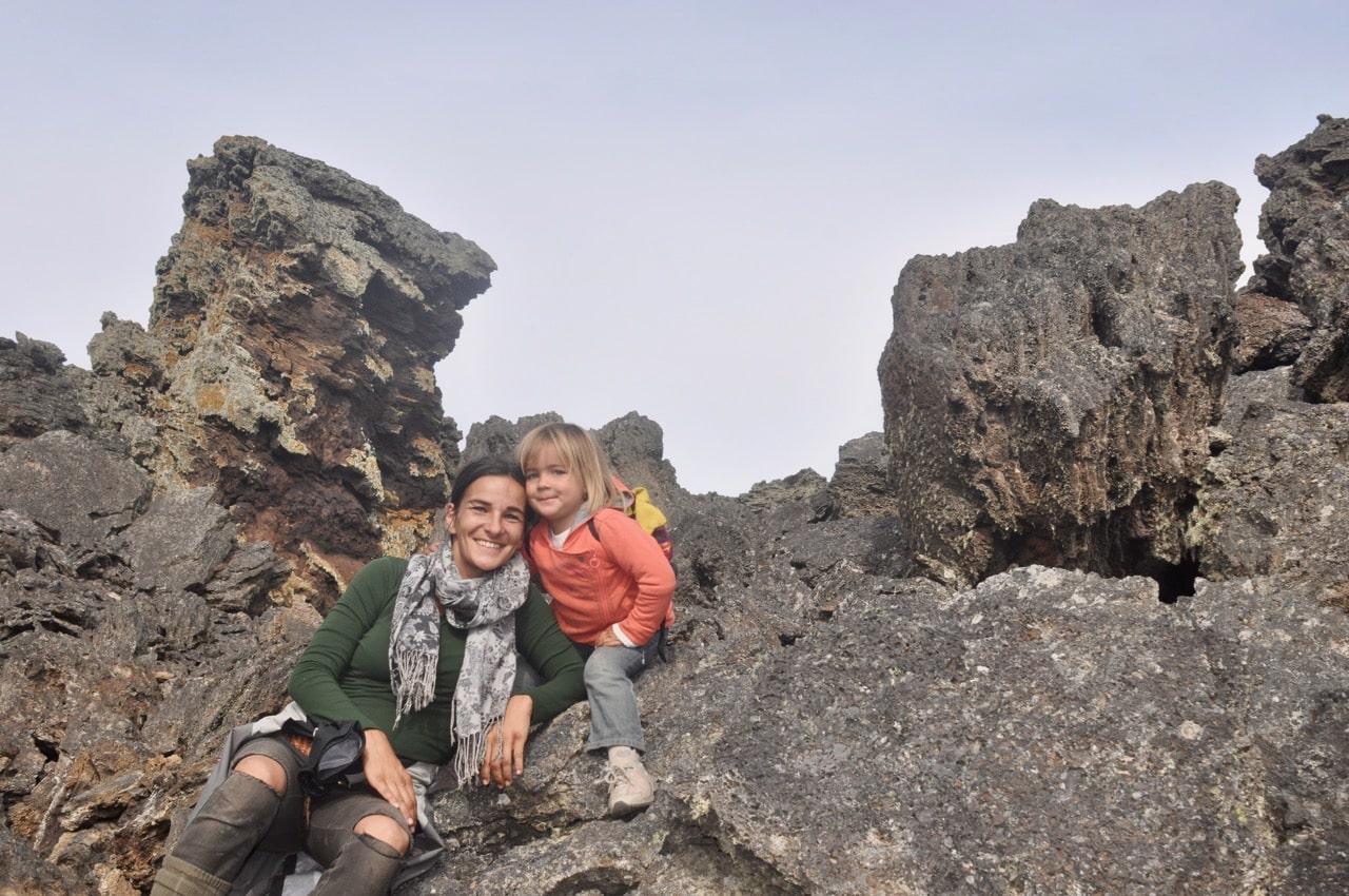 Michi & Romy im Escorial del Diabolo