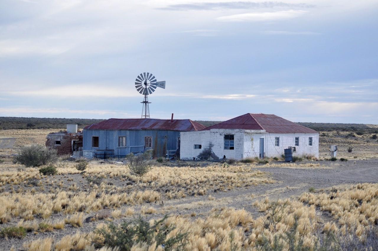 Haus in der Pampa